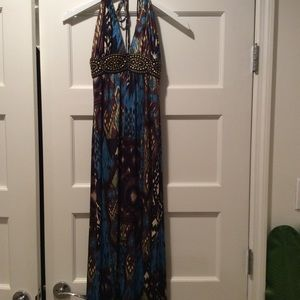 Long SKY dress